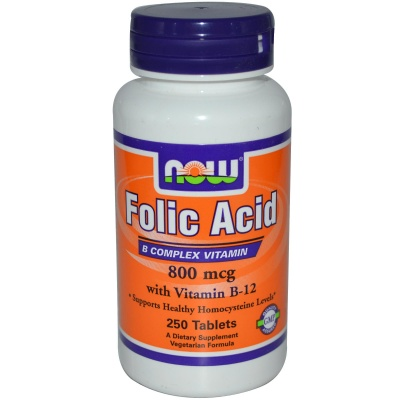 Витамины Folic Acid 800 mcg