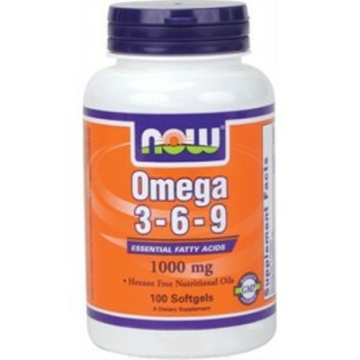 NOW Омега 3-6-9 1000 mg 100 softgels