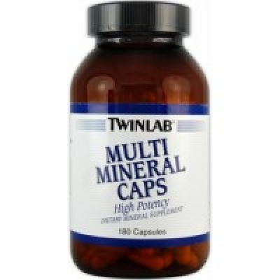 Twinlab Multimineral Caps 180 капс