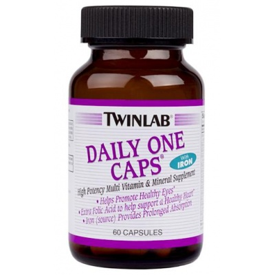 Витамины Twinlab Daily One Caps 60 cap