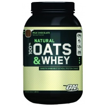 Протеин Optimum Nutrition Natural Oats & Whey 1350g