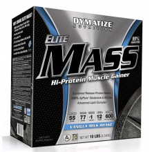 Гейнер Dymatize Elite Mass Gainer 4540 gr