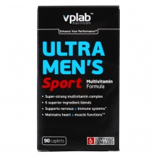 Витамины VPlab Ultra Mens sport multivitamin formula 90 caps