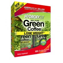 Жиросжигатель Muscletech Hydroxycut 100% Pure Green Coffee 100 caps