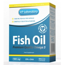 VP Fish Oil 1000мг 60 капс