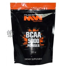 БЦАА Muscle World Nutrition 5000 powder 300 гр
