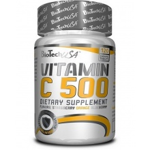 Антиоксидант Biotech Vitamin C 500 mg Chewing 120 tab.