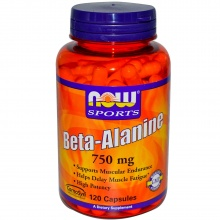 NOW Beta-Alanine 750g 100кап