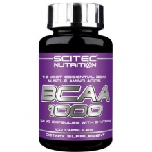BCAA Scitec Nutrition 1000 100 капсул