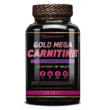 Л-карнитин Supplemax Gold Mega Carnitine 90 таблеток