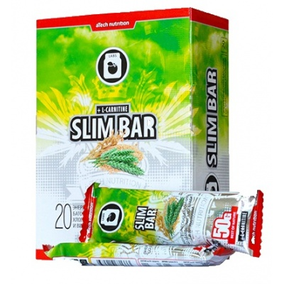 Батончик aTech Nutrition Slim Bar c L-карнитином 50 гр