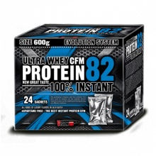 Vision Nutrition Ultra Whey CFM Protein 82 (600 г - 24 пакетика)