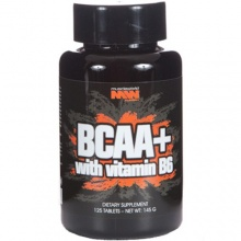 BCAA+ with vitamin B6 (125 таб) Muscle World Nutrition
