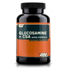Glucosamine + CSA Super Strength, 120 табл. Optimum Nutrition