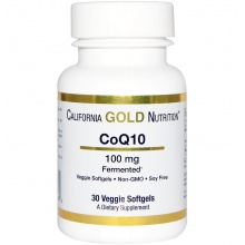 Антиоксидант California Gold Nutrition CoQ10 100 mg 30 кап.