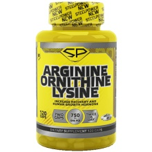 Аминокислоты Steel Power Arginine Ornithine Lysine (120 капсул)