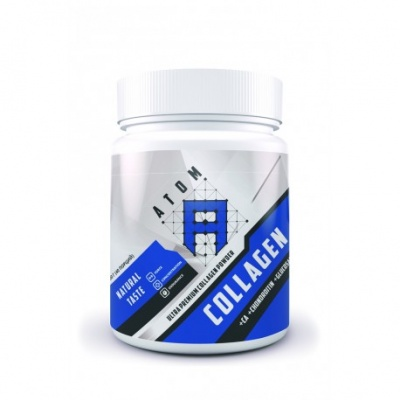 Коллаген АТОМ Collagen Ca+Chondroitin+Glucosamine Powder, 200г