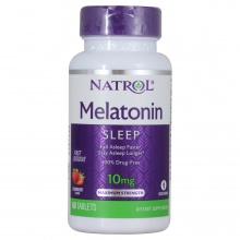 Антиоксидант Natrol Melatonin 10 mg 60 tab