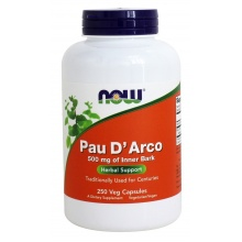 NOW Pau D`aco 500 mg 250 cap