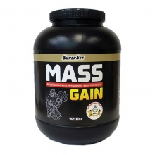 Гейнер SuperSet Mass Gain 8400 гр