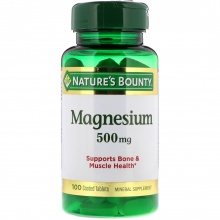 Витамины Nature`s Bounty Magnesium 100 табл