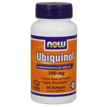 Антиоксидант NOW Ubiquinol 60 кап