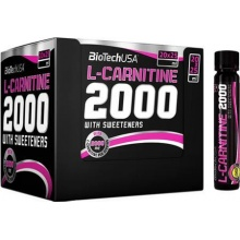 Л-Карнитин BioTech USA L-Carnitine 2000 mg  25мл