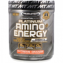 Аминокислота MuscleTech Platinum Amino Plus Energy 317 гр