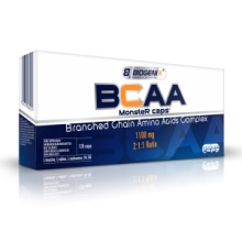 БЦАА Biogenix BCAA Monster Caps 120 капсул