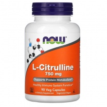 NOW Citrulline 750 mg 90 cap