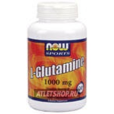 NOW L-Glutamine 1000mg 240 cap