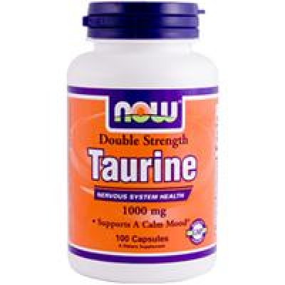 NOW Taurine 1000 mg 100 cap