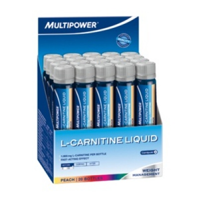 Multipower L-Carnitine Liquid Forte 1800mg , 20ml