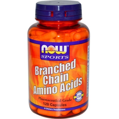 BCAA NOW Branched Chain Amino Acids 120 cap