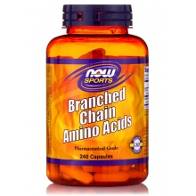 BCAA NOW Branched Chain Amino Acids 240 cap