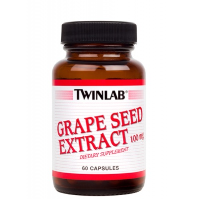 Антиоксидант Natures Herbs (Twinlab) Grape Seed Powder 100mg, 60cap