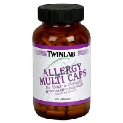 Витамины TWINLAB ALLERGY MULTI CAPS 200 cfps