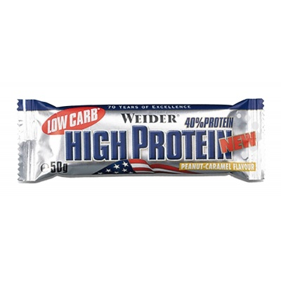 Батончик Weider Low Carb High Protein 50g