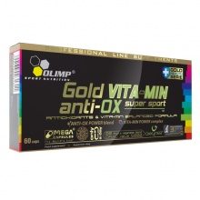 Антиоксидант Olimp GOLD VITA-MIN anti-OX super sport 60 капс.
