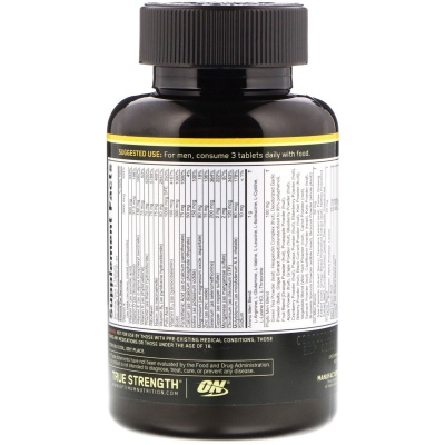 Витамины Optimum Nutrition Opti-Men 90tab