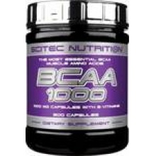 БЦАА Scitec  Nutrition BCAA 1000 300 капсул,