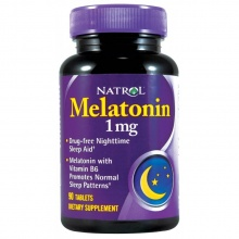Антиоксидант Natrol Melatonin 1 mg 90 таб