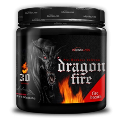 Предтрен Invitro Labs Dragon Fire 240 гр