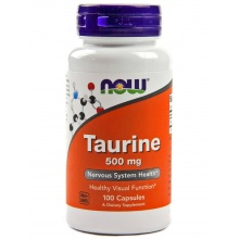 Now Taurine 500mg 100кап