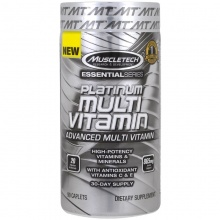 Витамины Muscletech Essential Series Platinum Multivitamin 90 таб