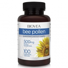 Витамины Biovea Bee Pollen 500 mg 100 caps