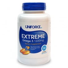Антиоксидант UNIFORCE Extreme Omega 3  1200 мг 120 кап