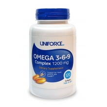Антиоксидант UNIFORCE Omega 3-6-9 1200 мг 120 кап