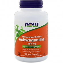 Спец препарат NOW Ashwagandha Extract 450 мг 180 кап
