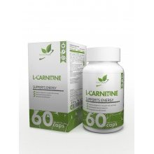 Л-Карнитин NaturalSupp L-Carnitine tartrat 60 caps